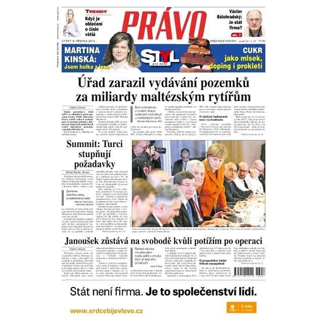 Právo - 08-03-2016 - Elektronické noviny