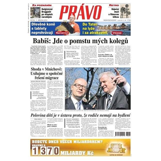 Právo - 11-03-2016 - Elektronické noviny