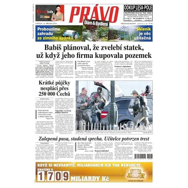 Právo - 16-03-2016 - Elektronické noviny