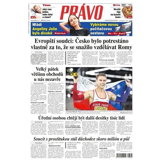 Právo - 21-03-2016 - Elektronické noviny