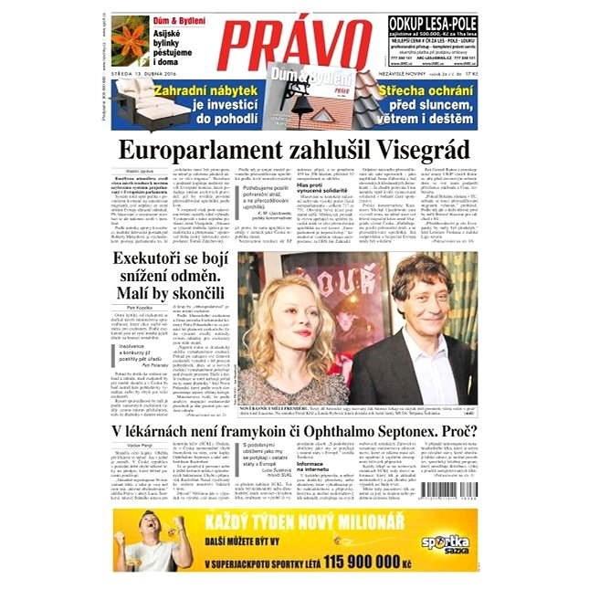 Právo - 13-04-2016 - Elektronické noviny