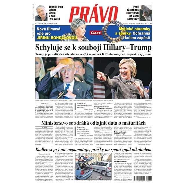 Právo - 28-04-2016 - Elektronické noviny