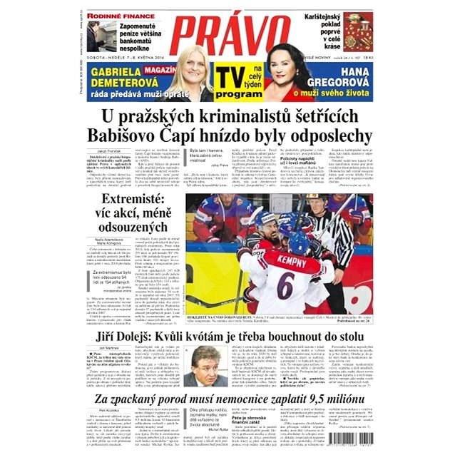 Právo - 07-05-2016 - Elektronické noviny