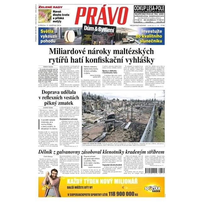 Právo - 11-05-2016 - Elektronické noviny