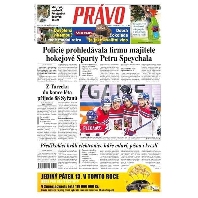 Právo - 13-05-2016 - Elektronické noviny