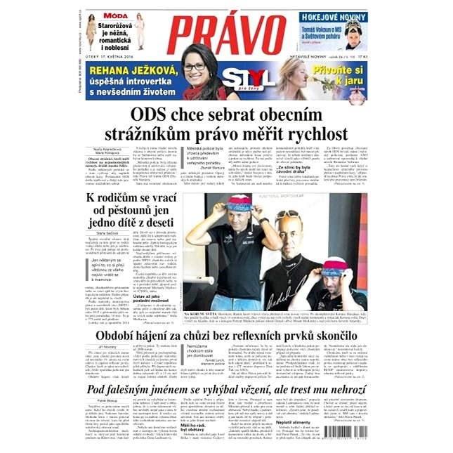 Právo - 17-05-2016 - Elektronické noviny