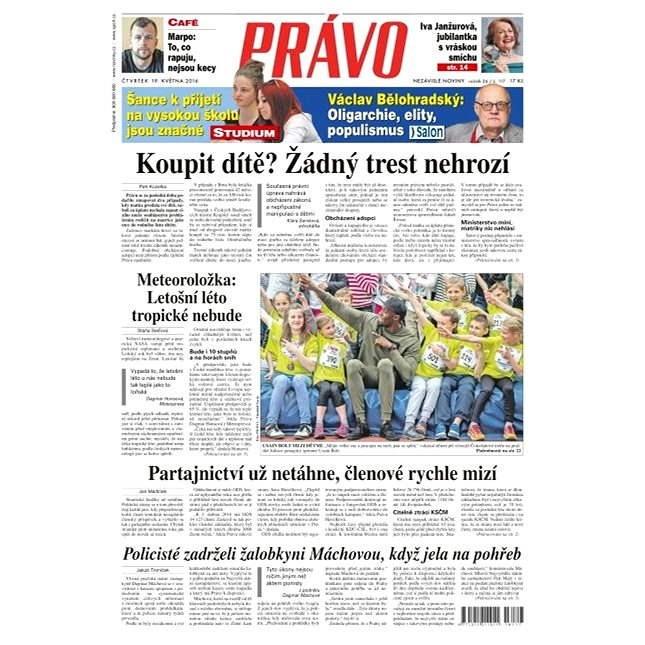 Právo - 19-05-2016 - Elektronické noviny