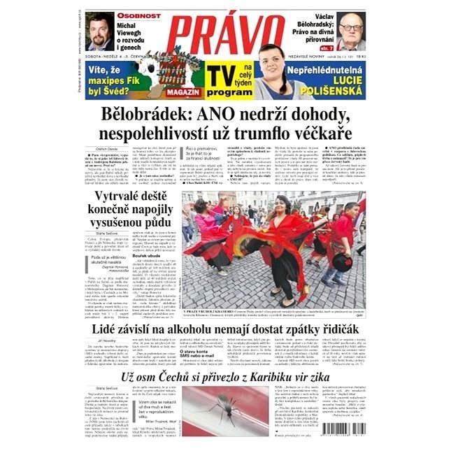 Právo - 04-06-2016 - Elektronické noviny