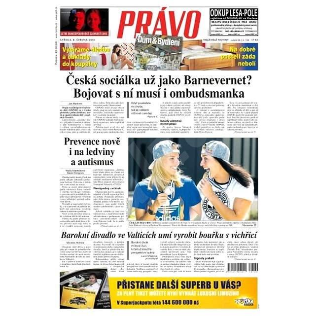 Právo - 08-06-2016 - Elektronické noviny