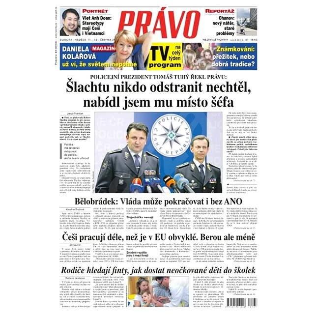 Právo - 11-06-2016 - Elektronické noviny