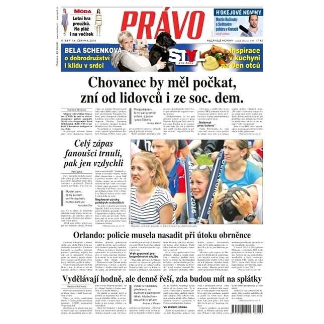 Právo - 14-06-2016 - Elektronické noviny