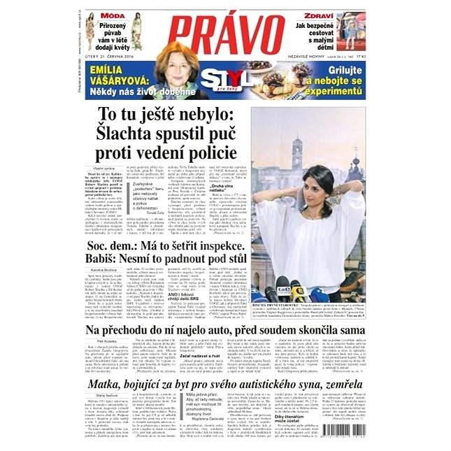 Právo - 21-06-2016 - Elektronické noviny