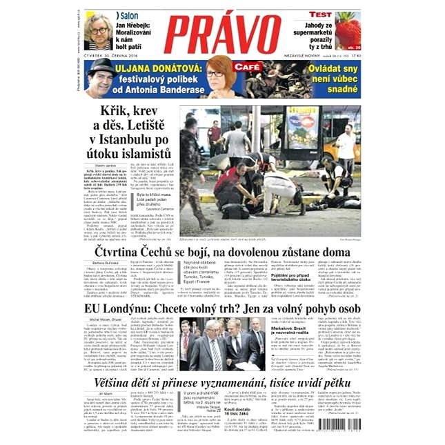 Právo - 30-06-2016 - Elektronické noviny