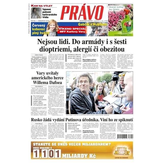Právo - 01-07-2016 - Elektronické noviny
