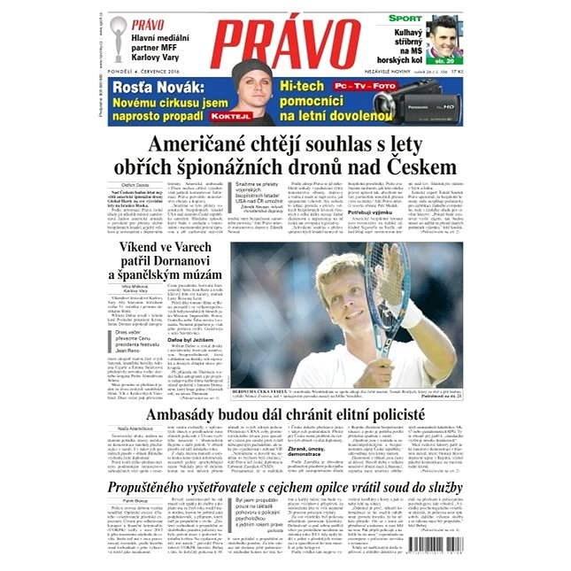 Právo - 04-07-2016 - Elektronické noviny