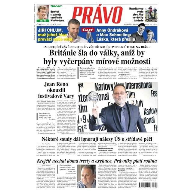 Právo - 07-07-2016 - Elektronické noviny