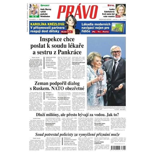 Právo - 11-07-2016 - Elektronické noviny