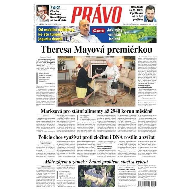 Právo - 14-07-2016 - Elektronické noviny