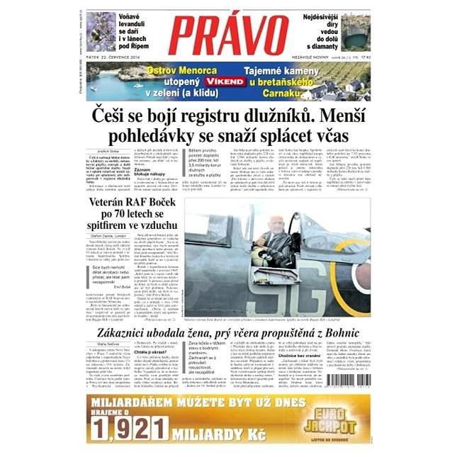 Právo - 22-07-2016 - Elektronické noviny