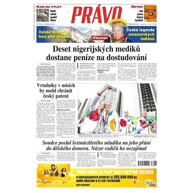 Právo - 05-08-2016 - Elektronické noviny