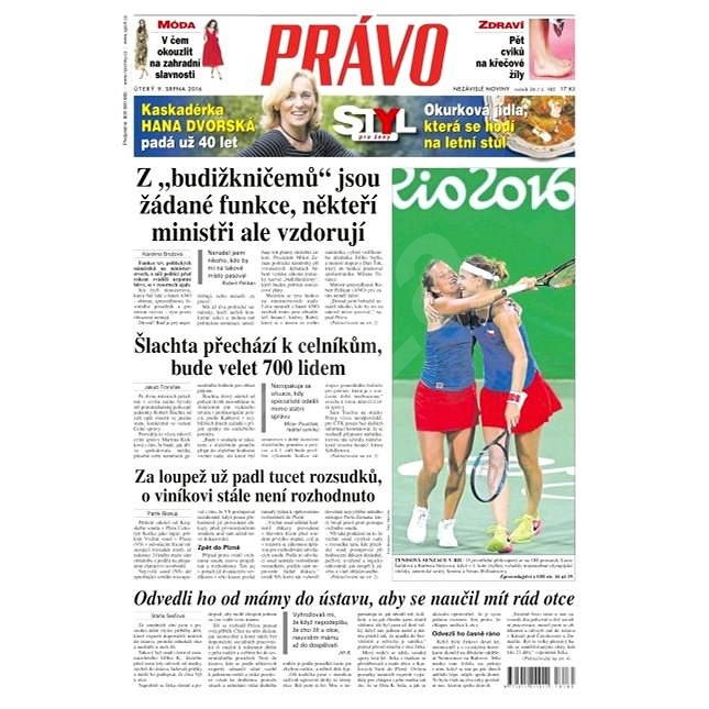 Právo - 09-08-2016 - Elektronické noviny