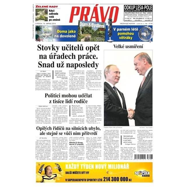 Právo - 10-08-2016 - Elektronické noviny