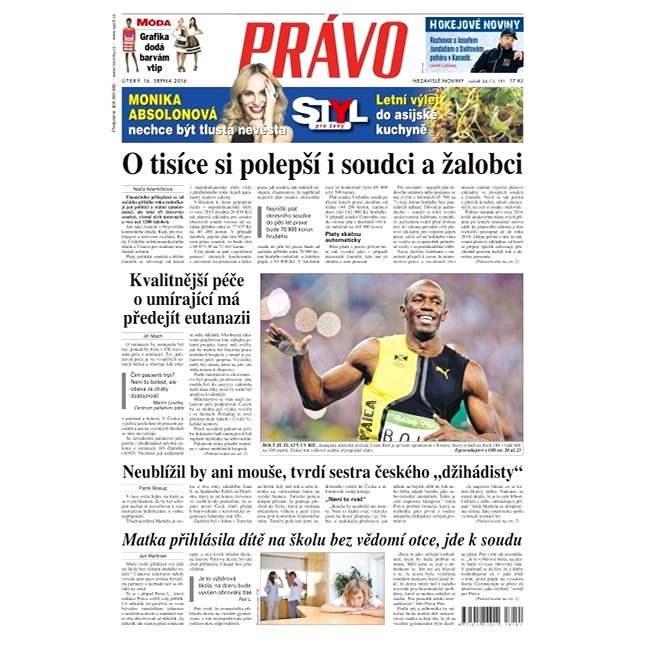 Právo - 16-08-2016 - Elektronické noviny