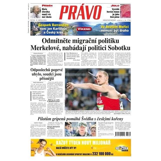 Právo - 19-08-2016 - Elektronické noviny