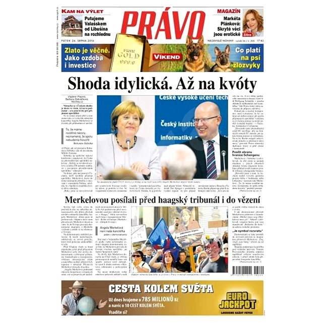 Právo - 26-08-2016 - Elektronické noviny