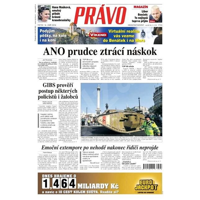 Právo - 16-09-2016 - Elektronické noviny