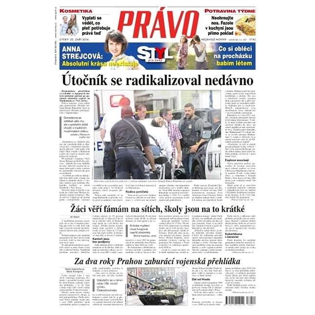 Právo - 20-09-2016 - Elektronické noviny