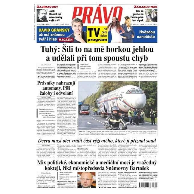 Právo - 24-09-2016 - Elektronické noviny