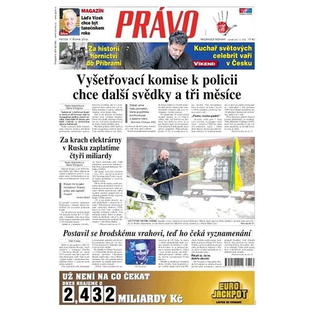 Právo - 07-10-2016 - Elektronické noviny