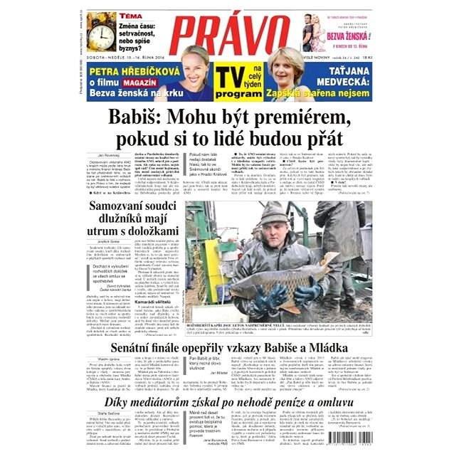 Právo - 15-10-2016 - Elektronické noviny