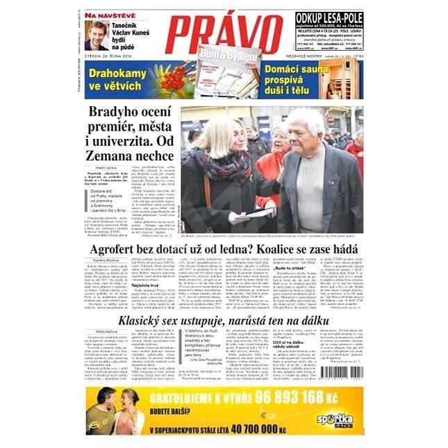 Právo - 26-10-2016 - Elektronické noviny