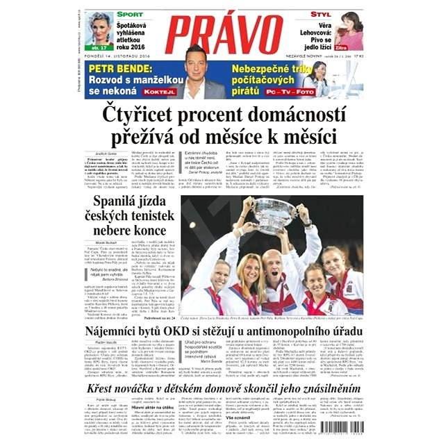 Právo - 14-11-2016 - Elektronické noviny