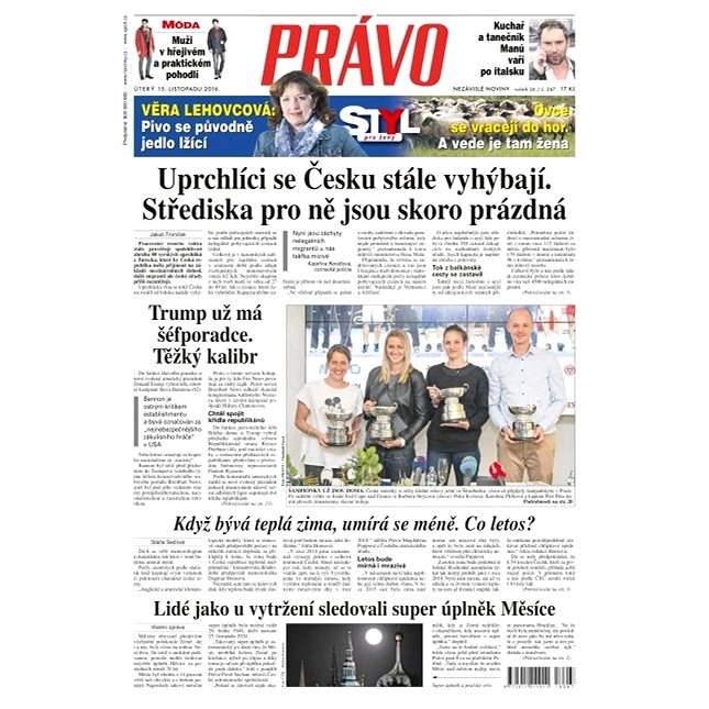 Právo - 15-11-2016 - Elektronické noviny