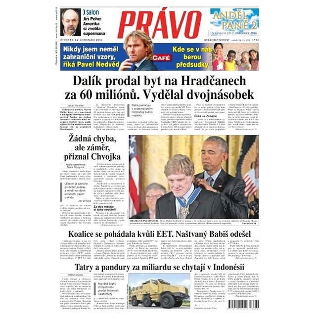 Právo - 24-11-2016 - Elektronické noviny