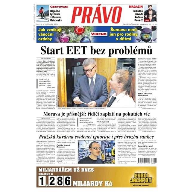 Právo - 02-12-2016 - Elektronické noviny