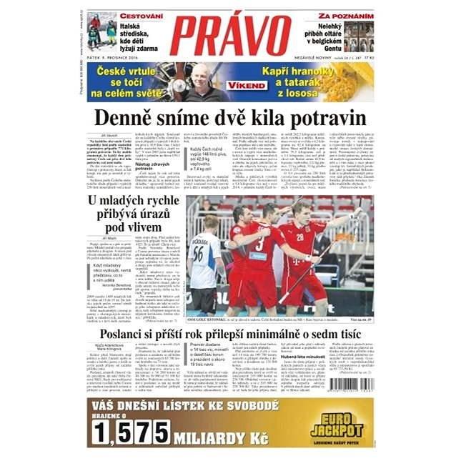 Právo - 09-12-2016 - Elektronické noviny