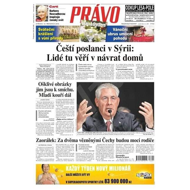 Právo - 14-12-2016 - Elektronické noviny