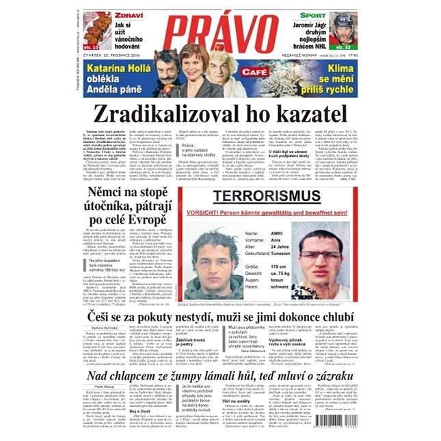 Právo - 22-12-2016 - Elektronické noviny