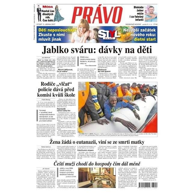 Právo - 03-01-2017 - Elektronické noviny