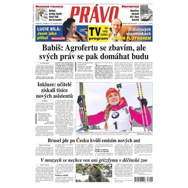 Právo - 07-01-2017 - Elektronické noviny
