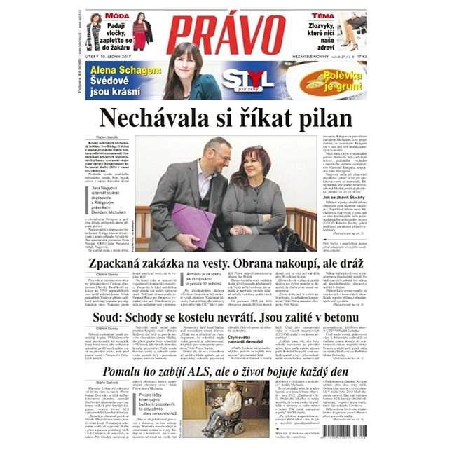Právo - 10-01-2017 - Elektronické noviny