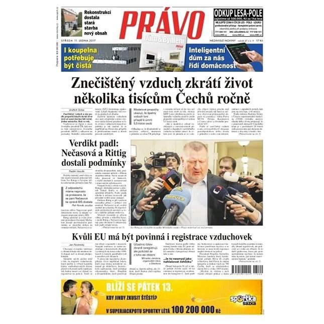 Právo - 11-01-2017 - Elektronické noviny