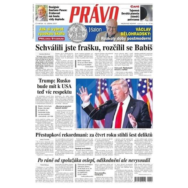 Právo - 12-01-2017 - Elektronické noviny