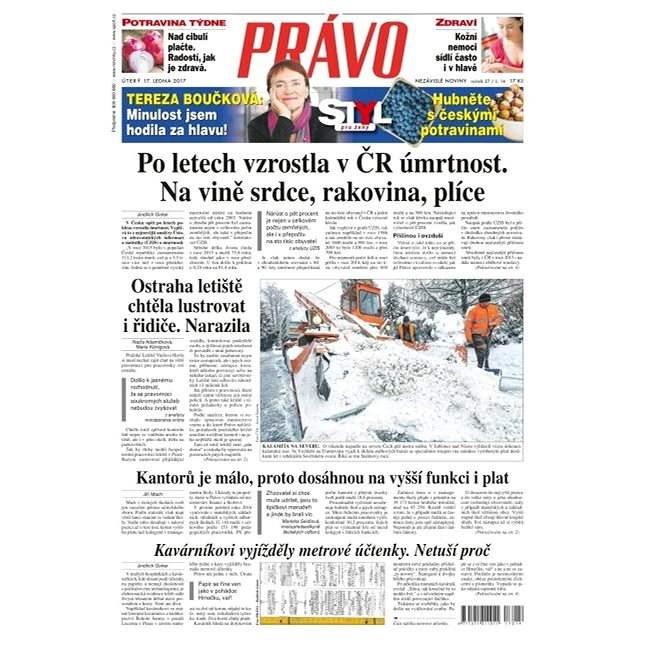 Právo - 17-01-2017 - Elektronické noviny