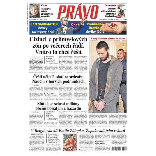Právo - 19-01-2017 - Elektronické noviny