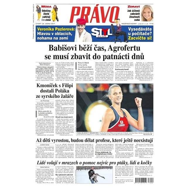 Právo - 24-01-2017 - Elektronické noviny